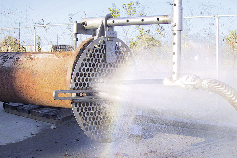 Pressure Washing Pipe : Kamat high pressure cleaning of pipes