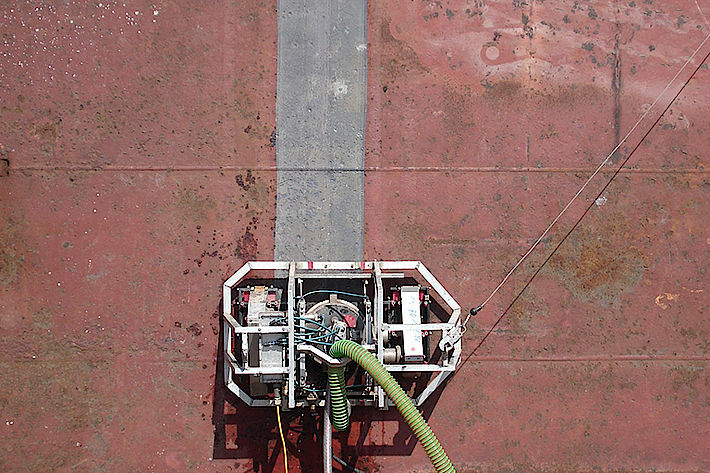 Ship Wall Cleaning High Pressure Pumps Kamat