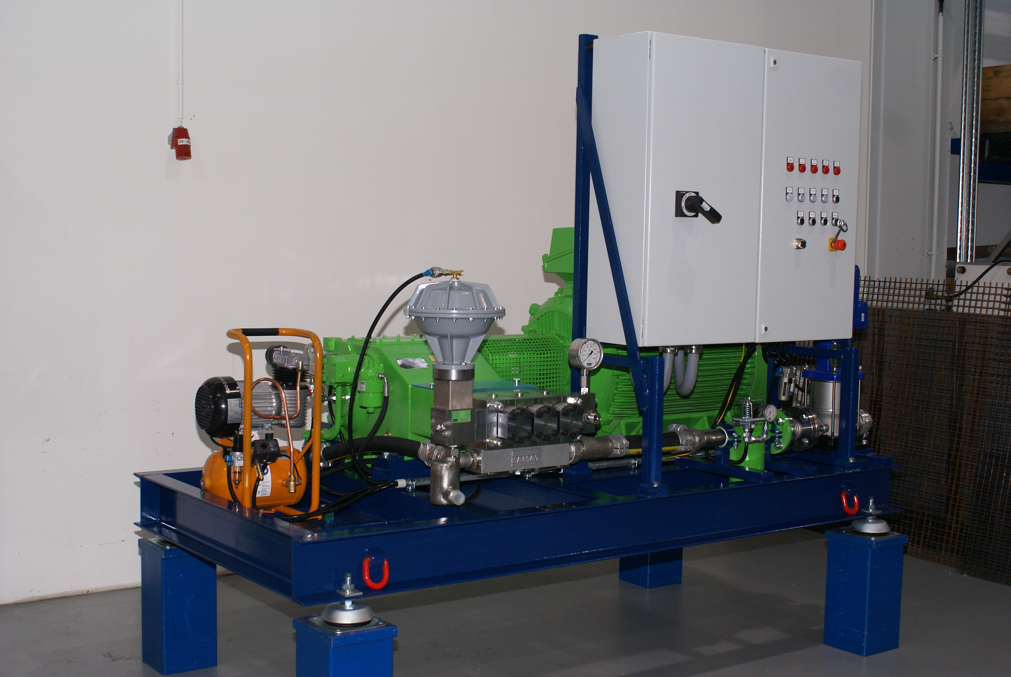 Kamat High Pressure Systems as plete Package
